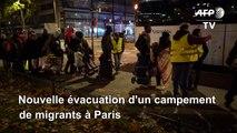 Plus de 500 migrants du nord-est de Paris mis à l'abri