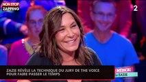 """Zazie révèle la technique du jury de """"The Voice"""" pour faire passer le temps (vidéo)"""