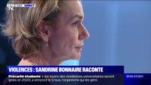"""""""J'aurais aimé qu'il me raconte ce qu'il m'a fait."""" Sandrine Bonnaire était inconsciente lorsqu'elle a été victime de violences conjugales"""