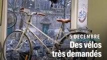 5 décembre : « On vend 25% de vélos en plus et le téléphone sonne sans arrêt »