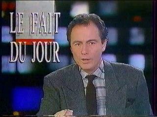 """Antenne 2 - 27 Décembre 1988 - Teasers, pubs, JT Nuit (Philippe Gassot), jingle """"A2"""""""