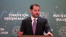 """Bakan Albayrak: """"Üretim, ihracat ve istihdam öncelikli yatırımları desteklemeye devam edeceğiz"""""""