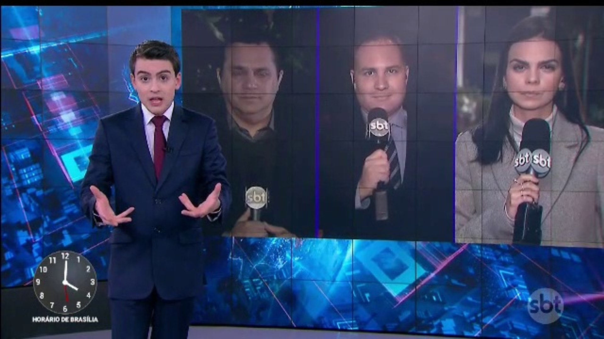 Encerramento SBT Brasil (com Carlos Nascimento e a volta de Analice Nicolau) e inicio Primeiro Impac