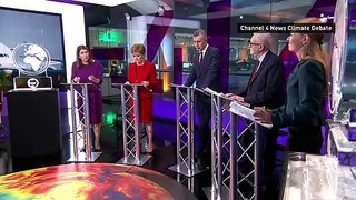 Leaders clash over climate policies in Channel 4 News debate