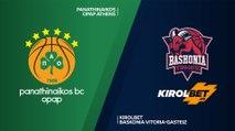 Panathinaikos OPA Athens - KIROLBET Baskonia Vitoria-Gasteiz  Highlights |EuroLeague, RS Round 11
