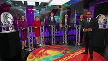 Boris Johnson replaced by ice sculpture at debate