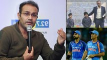 Virender Sehwag Wants His Sons To Bcome Like Virat Kohli Or MS Dhoni || Oneindia Telugu