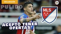 Alan Pulido aceptó tener ofertas de la MLS   Entrevista