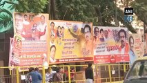 Banners congratulating Uddhav Thackeray as new Maharashtra CM seen in Mumbai