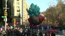 Les images de la parade de Thanksgiving à New York