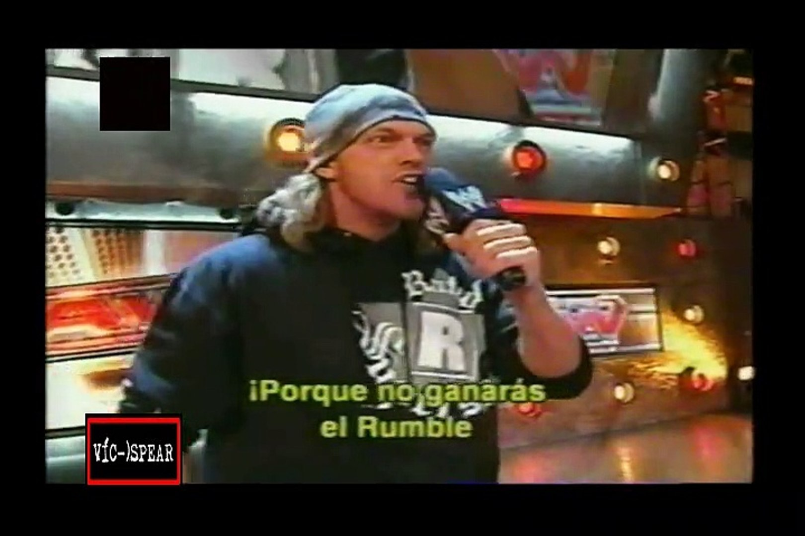 Palabras entre Shawn Michaels & Edge previo a Royal Rumble 2007 - WWE Experience - Sub. En Españ