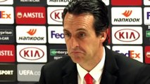Football - Europa League - Unai Emery press conference after Arsenal 1-2 Eintracht Frankfurt