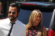 Justin Theroux celebrates Friendsgiving with Jennifer Aniston
