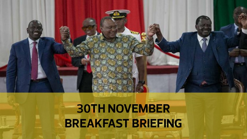 BBI implementation headache | Uhuru's reports gather dust | HR fixed marks for student: Your Breakfast Briefing