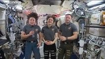 شاهد: رواد الفضاء في المحطة الدولية يحتفلون بعيد الشكر