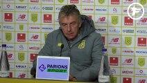 Christian Gourcuff évoque son avenir au FC Nantes