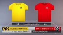Match Preview: Wolverhampton vs Sheffield United on 01/12/2019