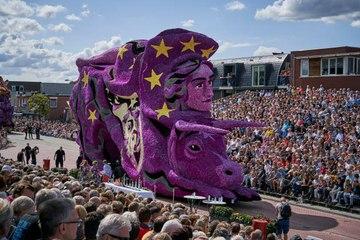 El increíble desfile de flores: Corso Zundert