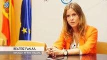 Entrevista a la diputada del PP, Beatriz Fanjul