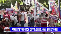 Parents to Dutch government: Send Joma back to PH