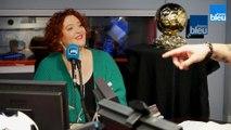 Vanessa Lambert présente le Ballon d'Or