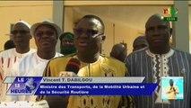 RTB / Arrivée d'une délégation gouvernementale à Dori dans le Sahel du Burkina Faso