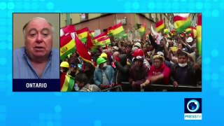 Bolivia's ousted president: US responsible for coup