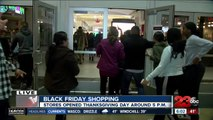 Shoppers hit the Valley Plaza Mall on Black Friday in hopes of scoring a few deals
