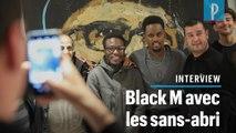Black M à la rencontre des sans-abri