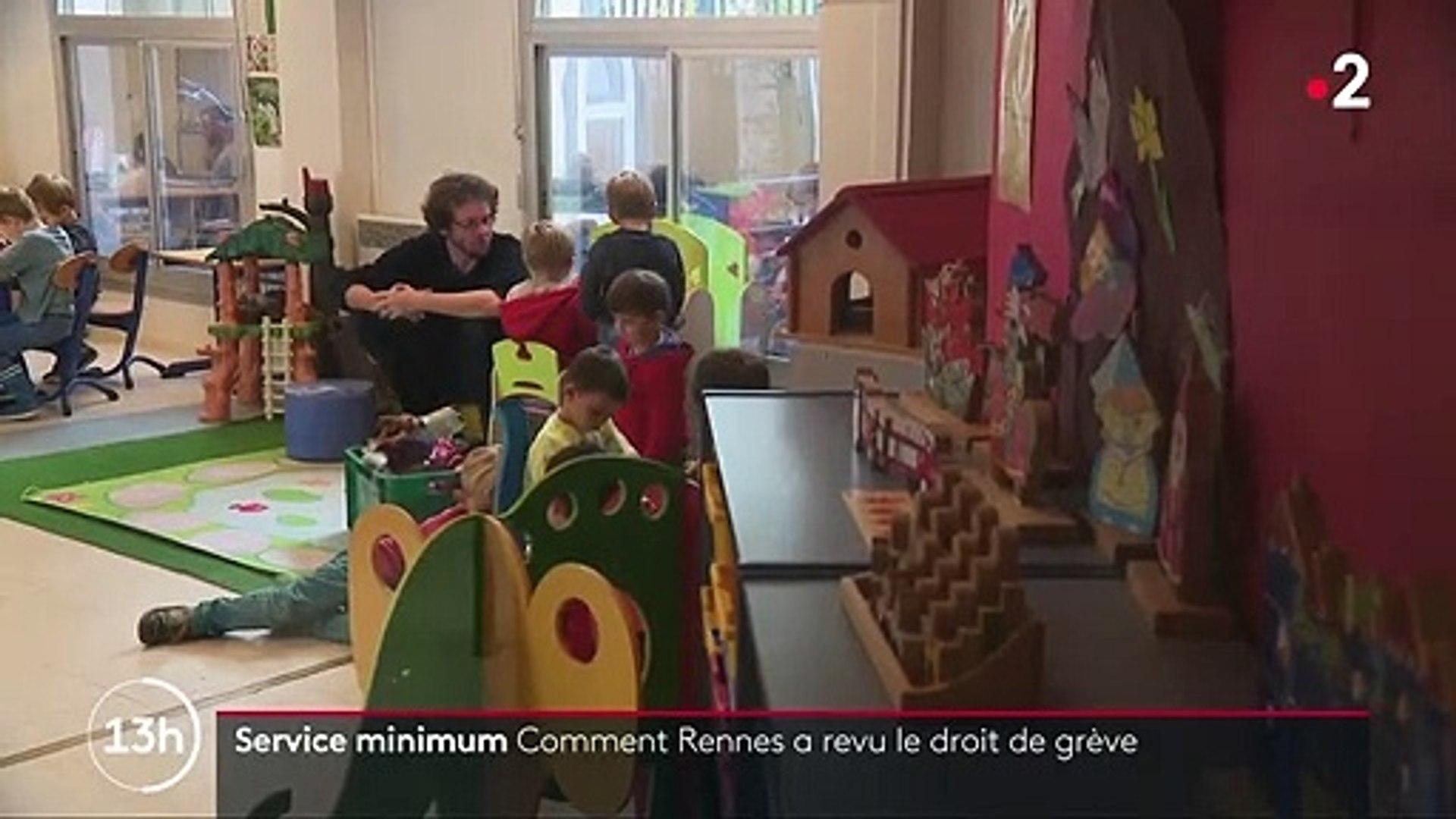 Rennes Des Mesures Pour Encadrer Le Droit De Grève Des Fonctionnaires