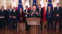 Malta, il premier Muscat pronto a dimettersi per il caso Daphne Caruana Galizia