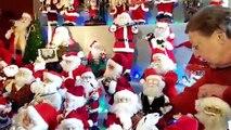 Sailly-Achâtel (57) : 136 pères Noël se retrouvent pour les fêtes de fin d'année