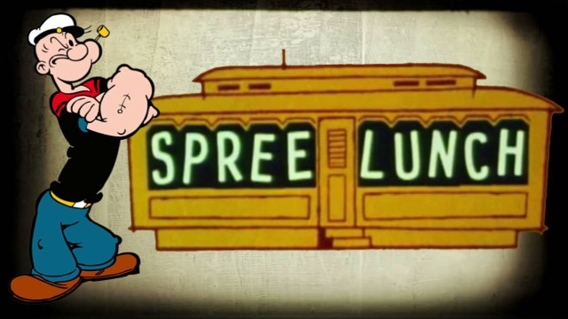 "Popeye in ""Spree Lunch"" (1957)"
