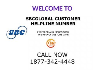 Sbcglobal Customer Helpline Number 1877-342-4448