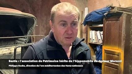 Bastia - l'association du Patrimoine hérite de l'hippomobile du docteur Morucci