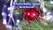 Christmas Themed World Records