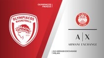 Olympiacos Piraeus - AX Armani Exchange Milan Highlights | EuroLeague, RS Round 11