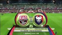 EAG-Caen 1-1   -  J16  DOMINO'S LIGUE 2 2019-2020