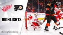 Philadelphia Flyers vs. Detroit Red Wings - Game Highlights
