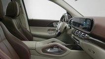 Der Mercedes-Maybach GLS Das Interieurdesign - Sicherer Stil und authentischer Luxus