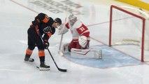 Flyers score twice in 30 seconds