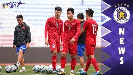 Thành Chung, Thái Quý sải bước tại Rizal Memorial, sẵn sàng đối đầu U22 Indonesia | HANOI FC