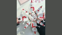 Paper crafts ,  Genius ideas ,  DIY christmas decorations with paper ,  Christmas Craft for kids ,  Christmas tree decoration,  Christmas Home Decoration ideas
