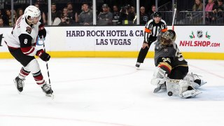 Coyotes, Golden Knights settle it in shootout