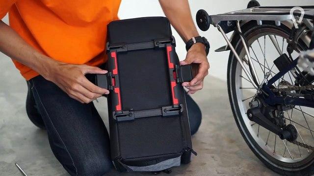 Introducing Nash Rack Bag - One Bag Fits All Racks