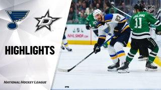 Dallas Stars vs. St. Louis Blues - Game Highlights