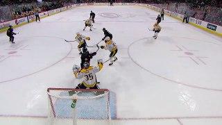 Pekka Rinne keeps Hurricanes at bay with 31-save shutout