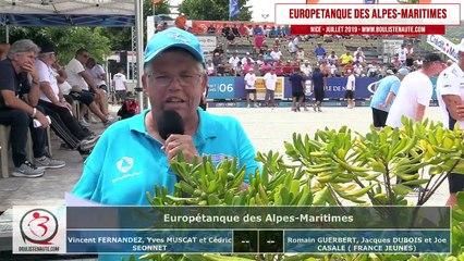 128ème MUSCAT vs FRANCE Jeunes : Europétanque des Alpes-Maritimes