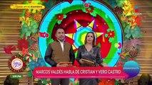 Marcos Valdés habla de la nueva relación de Cristian Castro