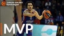 Turkish Airlines EuroLeague Regular Season Round 11 MVP: Shane Larkin, Anadolu Efes Istanbul
